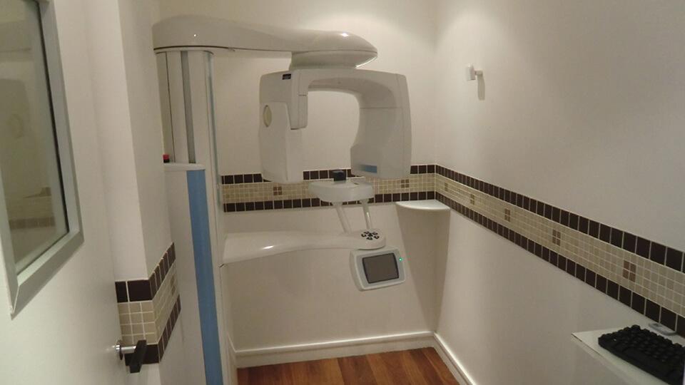 Scanner dentaire - Salle de radiologie – Dentiste Boulogne Billancourt